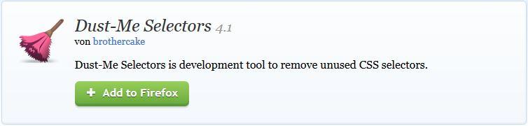 Dust-Me für Firefox