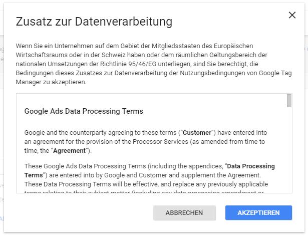 Dsgvo Adv Vertrag Für Google Analytics Online Erledigen