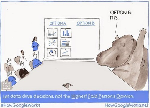 HIPPO – Highest Paid person´s opinion