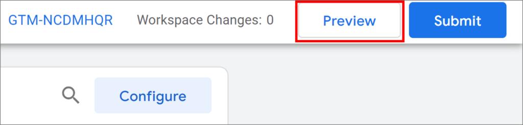 Google Tag Manager Debug Modus